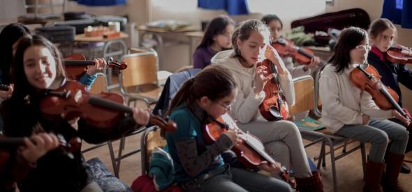Orquestas infantiles en Coyhaique
