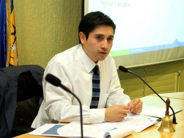 Presidente del Consejo Regional de Aysén Miguel Ángel Calisto