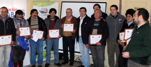 Sence certificó a ganaderos de Villa Amengual y Lago Verde.