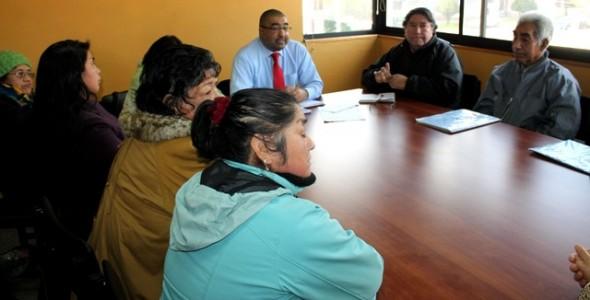 Seremi de Bienes Nacionales se reunió con Comunidades Indígenas de Aysén
