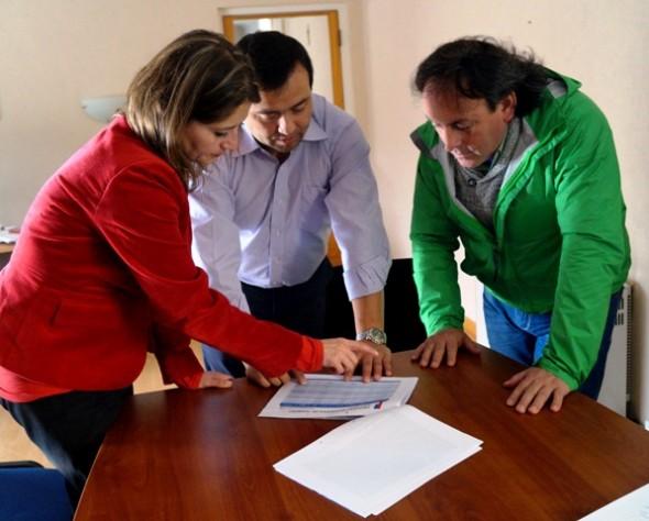 Seremi de Justicia y diputado Fuentes analizan proyecto de la nueva cárcel y reactivación del CET Nueva Vida
