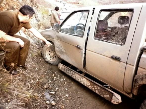 Vehiculo Accidente sector El Cristo