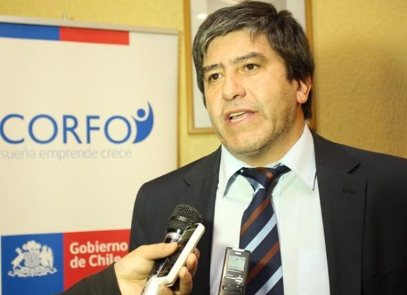 Claudio Montecinos, director regional de Corfo.