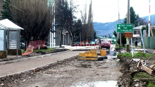 Calle MAGALLANES OBRAS