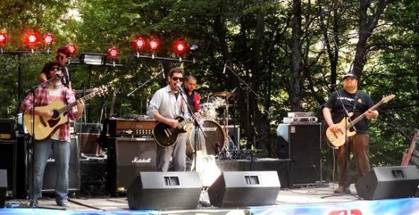 El Viejo Truco en Rock Río Simpson 2014 (Facebook banda).