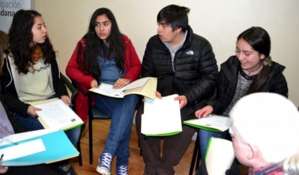 Estudiantes de la Región de Aysén.