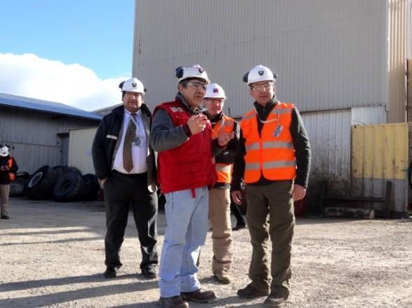 ISL visitó a trabajador en el marco del programa Empresa Prioritaria