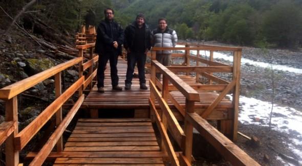 Subdere Aysén inspeccionó obras en Tortel y Villa O' Higgins