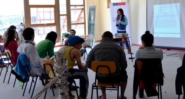 Capacitacion Monitores Campamento Chile Va 2014
