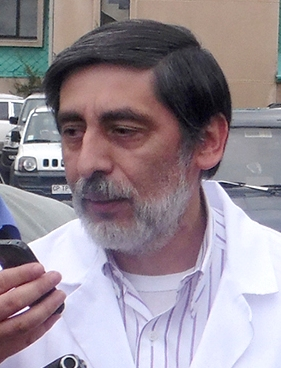 Carlos Mansilla, sub medico Hospital Coy