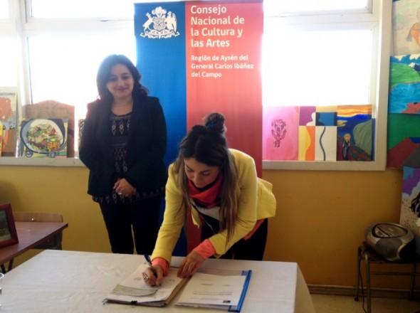 Iniciativas Culturales escolares, Carolina Rojas
