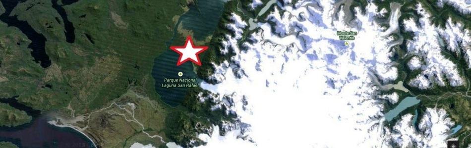 Mapa Laguna San Rafael Slide
