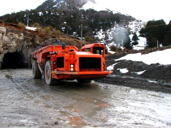 Minera El Toqui Operacion