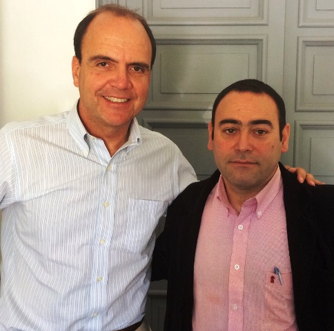 Cristian Monckeberg y consejero Carlos Campos