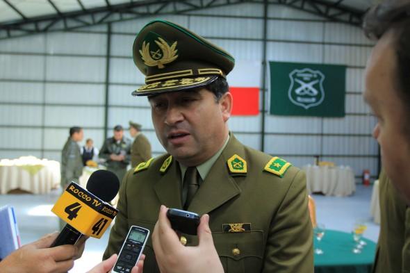 General Gerardo Concha Ortega - Jefe XI Zona de Carabineros Aysén