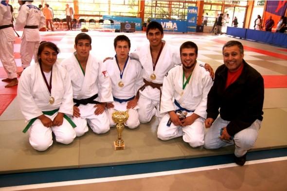 Judo aysnino es campeón