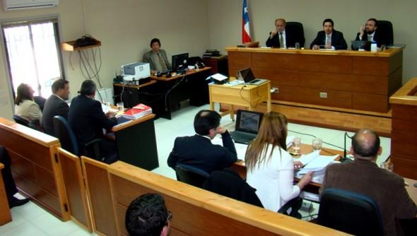 Juicio Aridos con Luperciano Muñoz presente