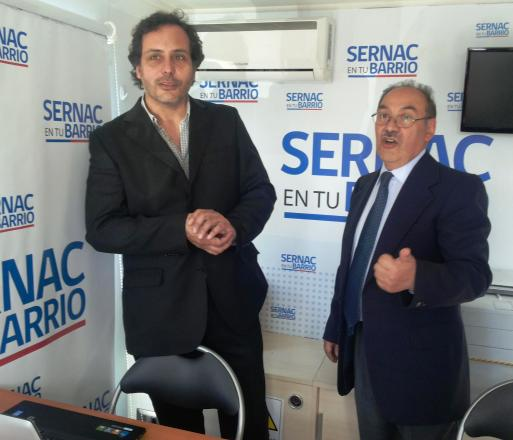 Sernac Movil autoridades seremi y director (s)
