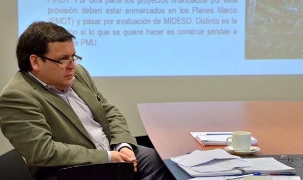 Carlos Torres, Subdere Region de Aysen