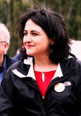 Carolina Rojas, directora regional de Cultura Aysén