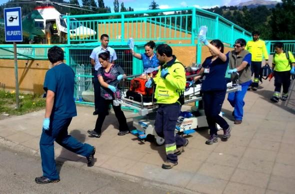 Hospital heridos