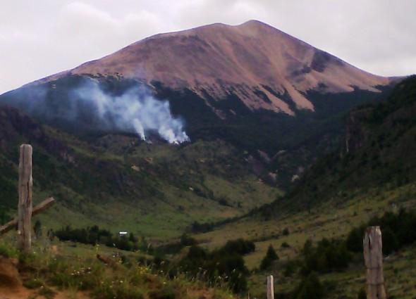 Incendio Coyhaique Conaf 1