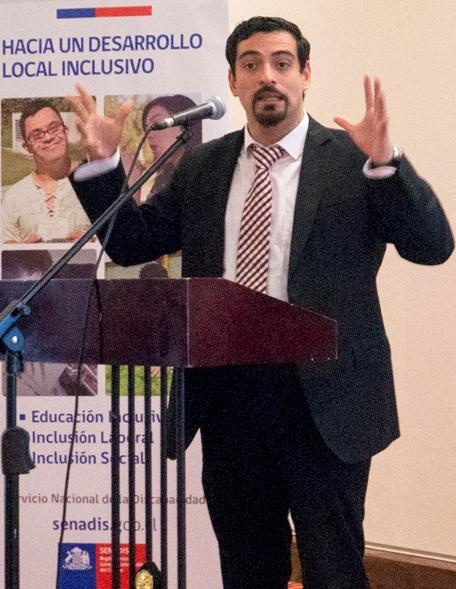 Mauro Tamayo, secretario ejecutivo de la Comisión y Director Nacional de Senadis