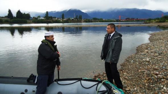 Fiscal en rio Aysen NOTA