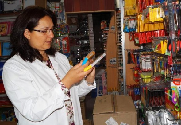 Seremi Salud fiscaliza utiles