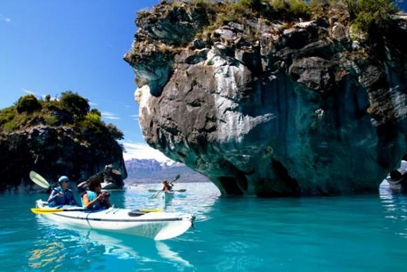 capillas marmol 2 kayak, sernatur Nota