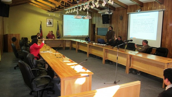 3- Dir Reg JUNAEB en Comision Social CORE