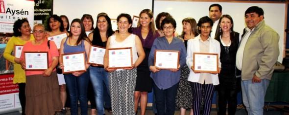 Certificación SENCE Coyhaique  Gastronomia Nota