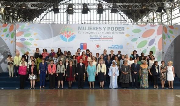 Encuentro ONU Mujeres Bachelet