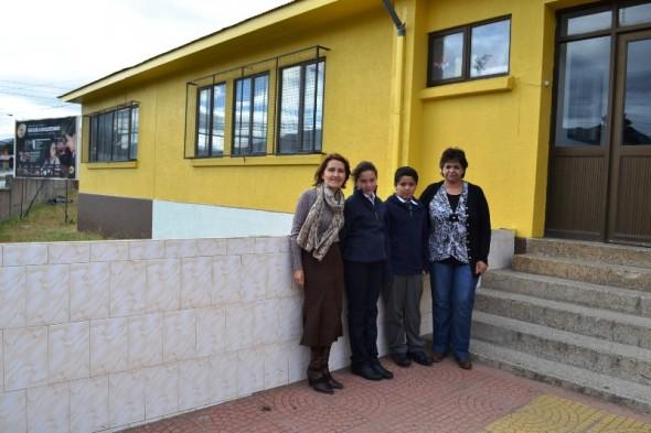Escuela baquedano Progrmaa Pinto mi escuela Nota