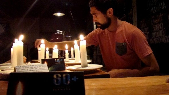 Hora del planeta restaurante Coy 2