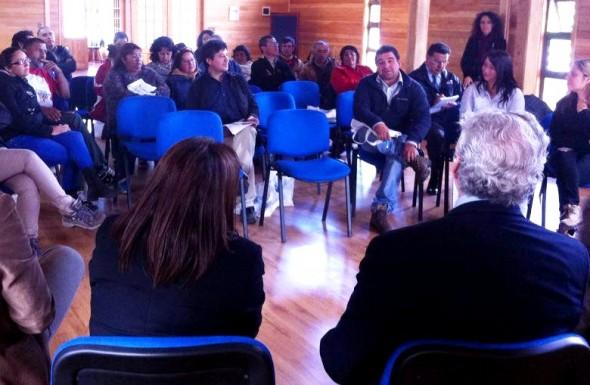 Reunión comunidad Min Energia OHiggins