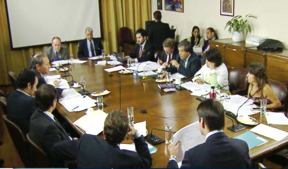 Sesión comision recursos hidricos diputados