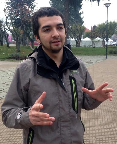 Alcalde suplente Chile Chico Cristian Saldia
