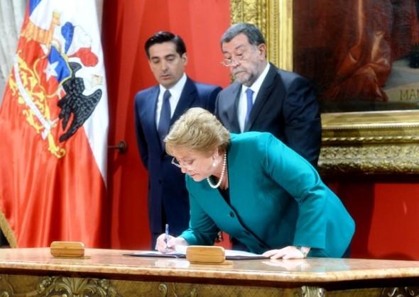 Bachelet Cambio Gabinete