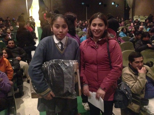 Carolina Guintao y Lorena Velasquez