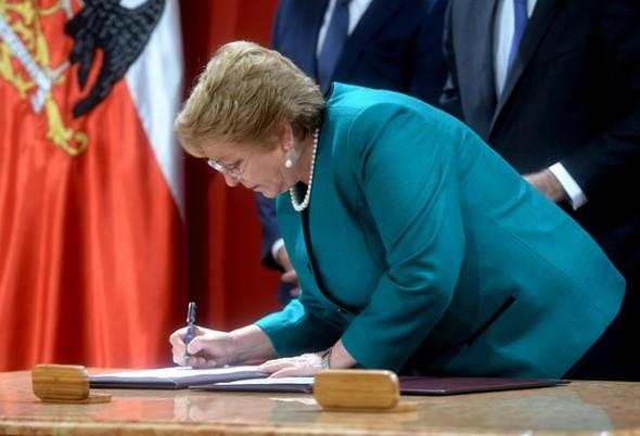 Presidenta cambio de gabinete