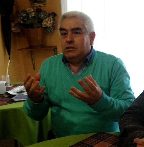 Ricardo Ibarra, concejal DC Chile Chico