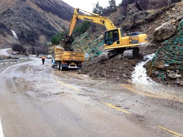 derrumbe carretera lluvias