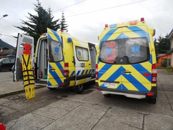 Ambulancia que llegaran a la  zona (referencia) 2