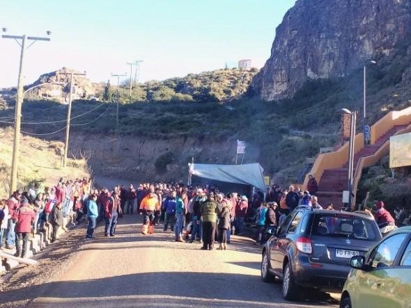 Cerro Bayo Huelga