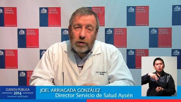 Cuenta Publica SSA Joel Arriagada