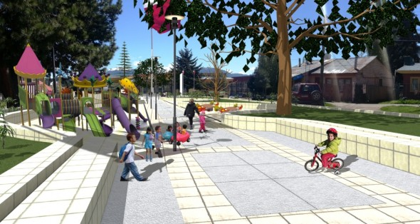 Paseo Baquedano (Imagen referencial del diseño del proyecto)