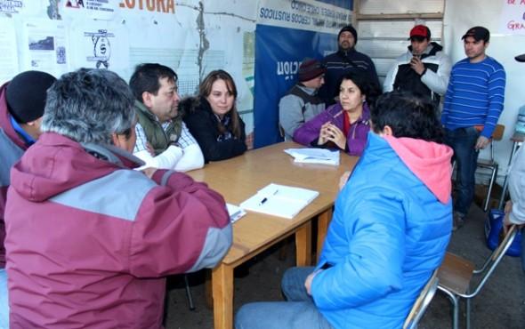 Reunión Cerro Bayo 1 Nota