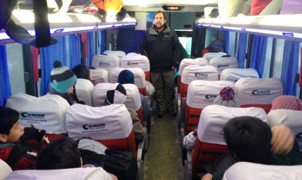 Bus Campamento Nota