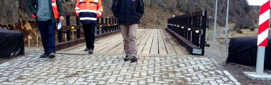 Puente Lago Frio MOP Slide